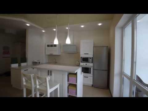 Реализованный проект Кухня совмещенная с коридором