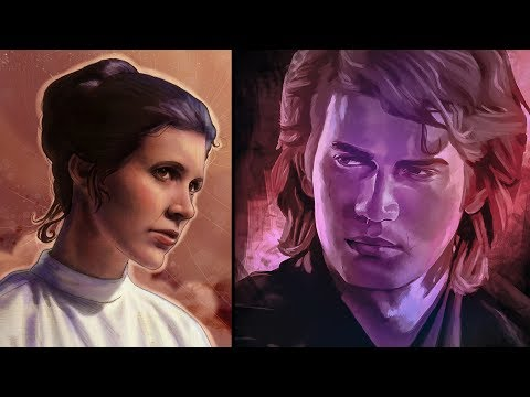 How Leia Reacted to Meeting Anakin as a Force Ghost [Legends] - Star Wars Explained