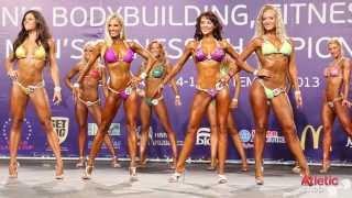 2013 ИФББ Чемпионат Мира - фиртнес бикини -168см (полуфинал)