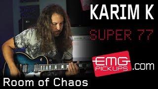 Karim K performs