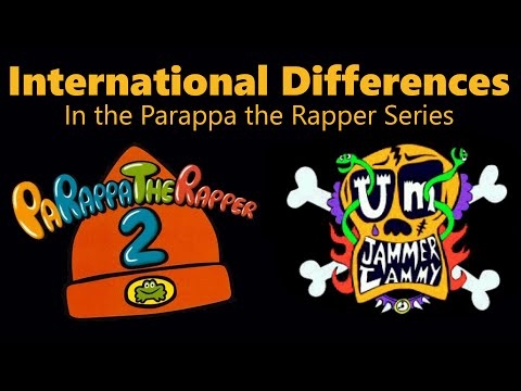 International Differences in the Parappa the Rapper Series (HD 1080p60)