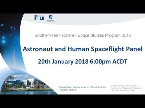 SH-SSP18 Astronaut and Human Spaceflight Panel