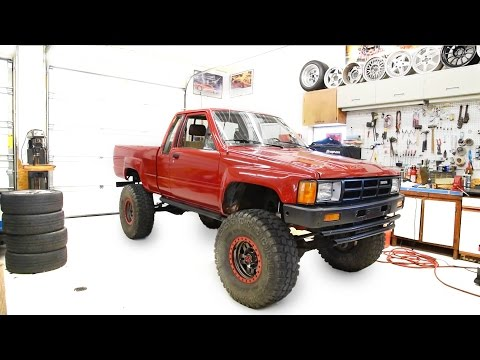 DIY: 1985 Toyota 4×4 Pickup Frame Repair, POR15, Fluid Film