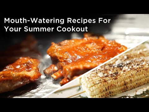 Mouth-Watering Recipes For Your Summer Cookout