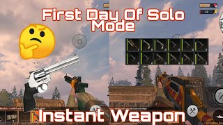 Instant Guns First Day Solo Mode (Last Day Rules Survival)