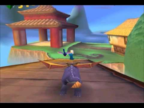 Spyro Year Of The Dragon Bamboo Terrace Part 1 2 Ps1