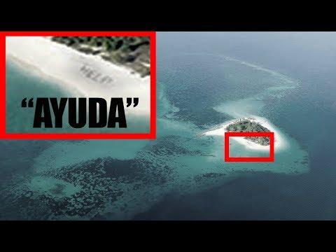 El hombre que fue encontrado en una isla por medio de una fotografía tomada desde un avión