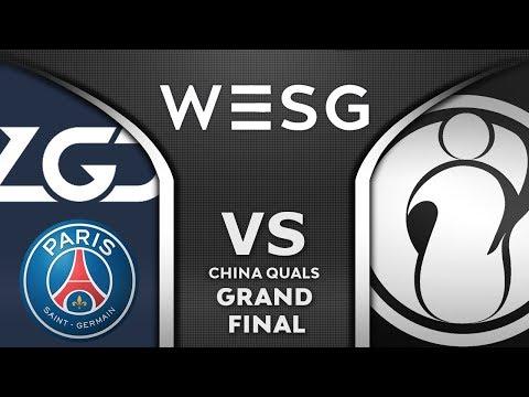 PSG.LGD vs IG Grand Final CN WESG 2019-2020 Highlights Dota 2