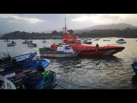 Salvamento Marítimo rescata unha embarcación en Xove