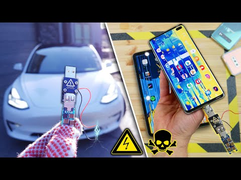 USB Killer vs Tesla Model 3, Galaxy S10, iPad Pro, Mate 20 Pro & More!