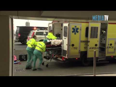 Dode en zwaargewonde bij liftongeval Boompjes Rotterdam