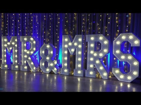The Best MR & MRS Light Up Letters For Your BIG Day
