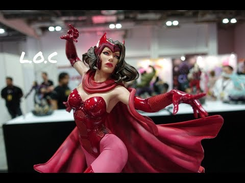 stgcc-2018-xm-studios---1:4-scarlet-witch,-1:7-juggernaut-&-spiderman-by-legendary-beast-studios