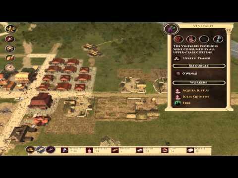 Imperium Romanum - Gameplay PC  