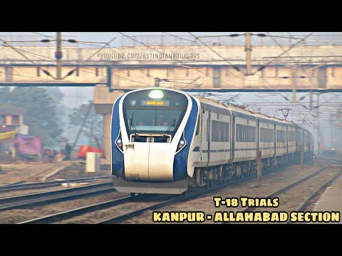Train-18 | Delhi-Allahabad Speed Trials | Morning Show At Manauri,(NCR)