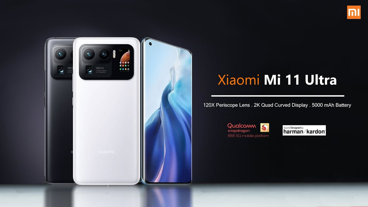 Xiaomi Mi 11 Ultra - Dual Display | 120X Zoom - First Look | Specifications - YouTube
