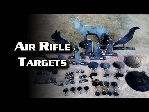 Air Rifle Targets (Steel)