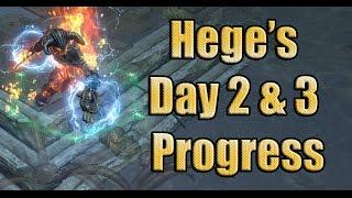Path of Exile Ascendancy: Day 2 & 3 Hegelementalist Progress Perandus League