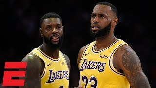 LeBron James records a triple-double in first home win with Lakers | NBA Highlights
