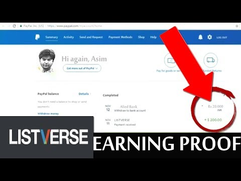 LISTVERSE tips | Listverse Guide Step By Step With Payment Proof 2017 | 100% working