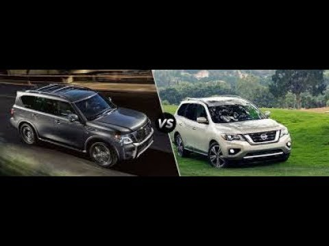 2017 Nissan Armada Platinum Vs 2017 Pathfinder Platinum - 2 Choices, 1 Winner