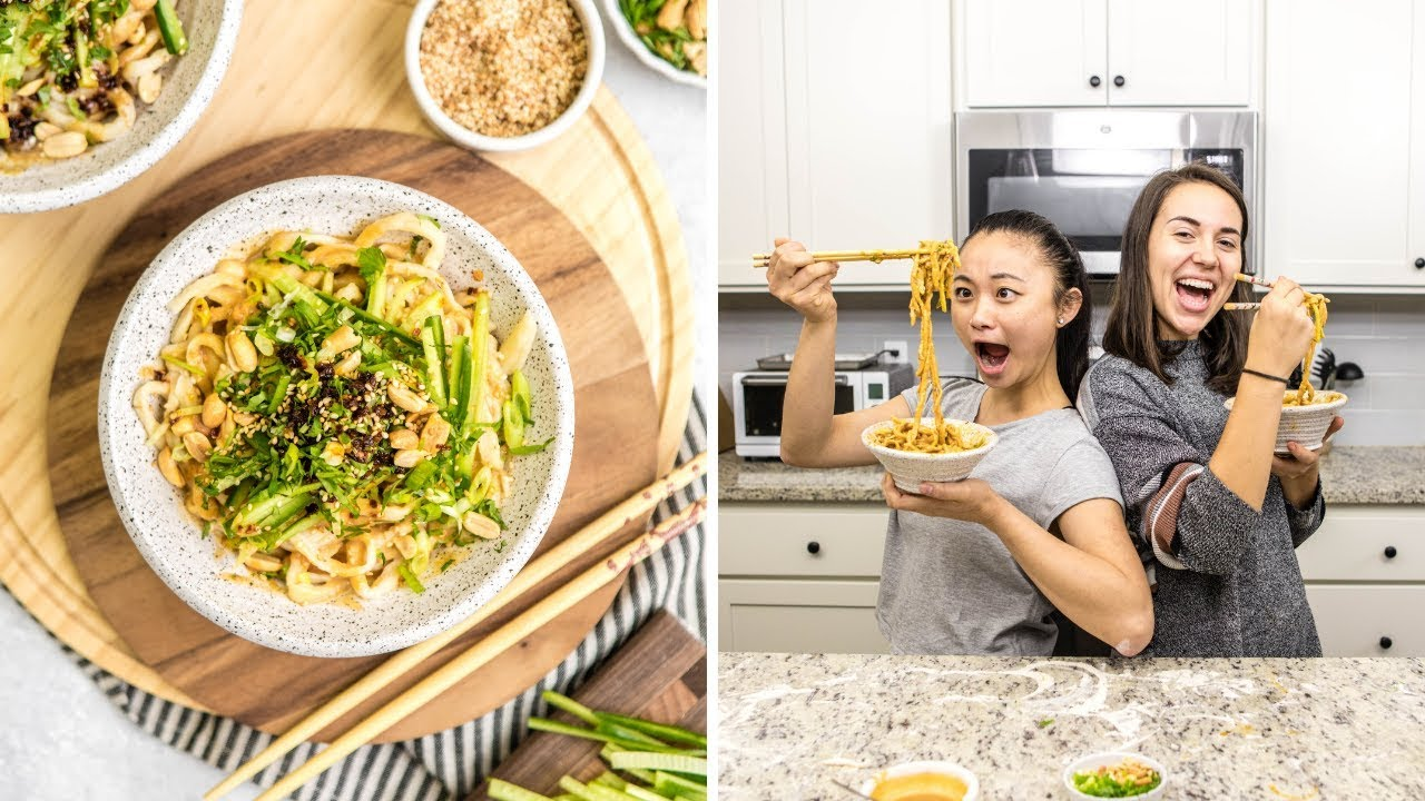 Spicy Sesame Noodles Recipe | Vegan + Delicious!
