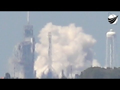 SpaceX - NROL76 - Static Fire Test  04-25-2017