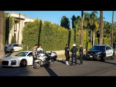 COPS VS SUPERCARS: 90210 Beverly Hills Edition
