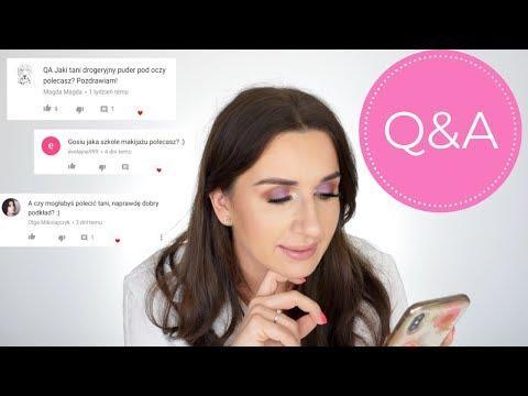 Q&A #1 | Tani Dobry Podkład | Co Zrobić Żeby Korektor Pod Oczami Wyglądał Dobrze? | Szkoła Wizażu