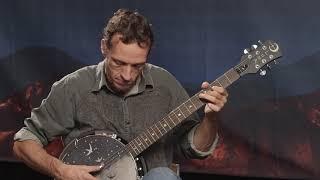 Luna Moonbird 6 String Banjo Demo