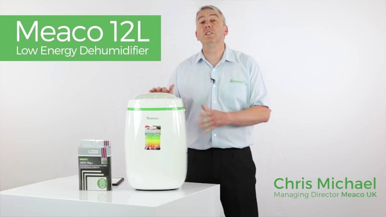 Buy Meaco Low Energy 12 Litre Dehumidifier | Dehumidifiers | Argos