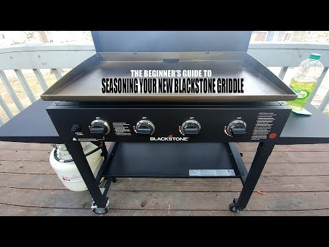 Seasoning Your New Blackstone Griddle - 101