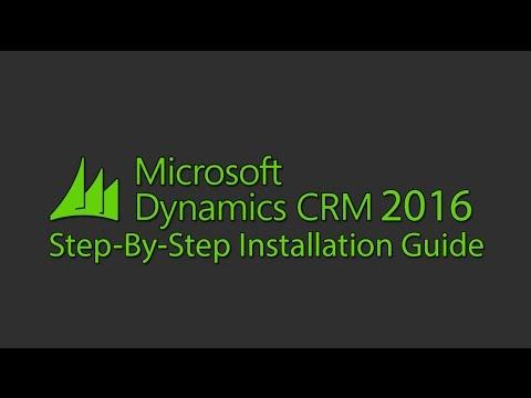 Microsoft Dynamics CRM 2016 Installation