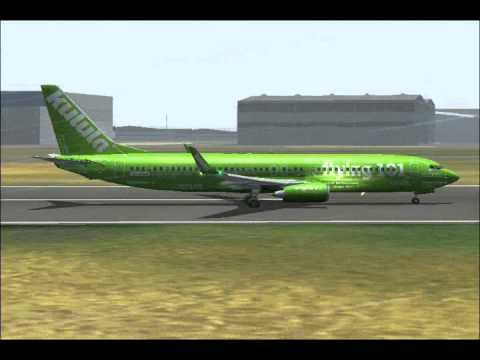 Kulula Boeing 737 800 Flying 101 Departs From Johannesburg Youtube