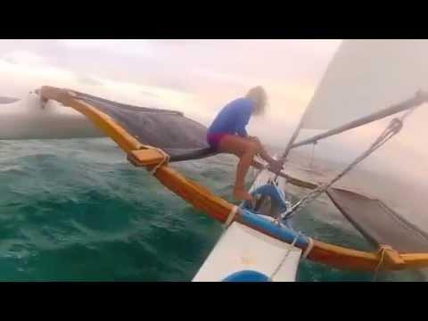 Ulua sailing canoe