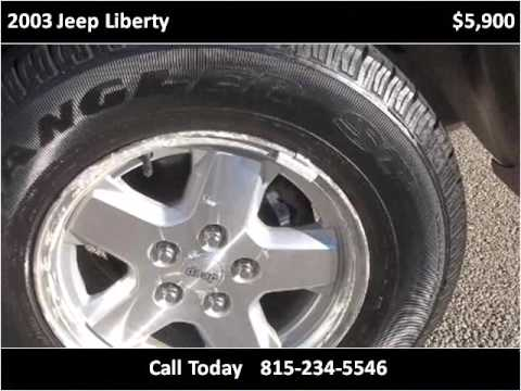 2003 Jeep Liberty Used Cars Byron IL