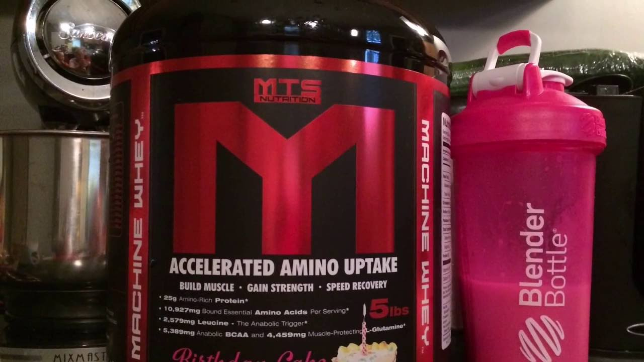 MTS Nutrition Birthday Cake Protein Powder Review