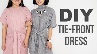 DIY Tie-Front Dress | Made From Scratch
