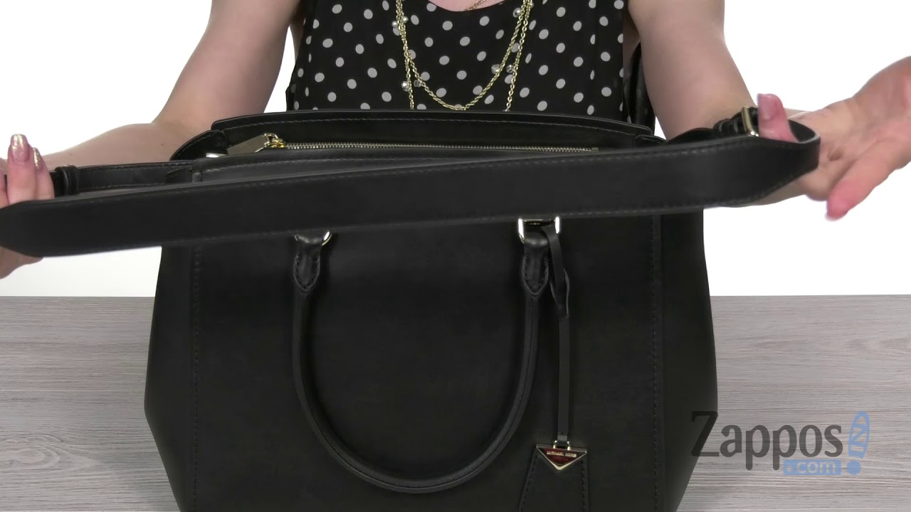 d53b16aa20b4 MICHAEL Michael Kors Benning Large Satchel SKU  9113076 - YouTube