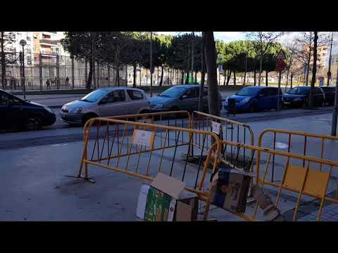 Strong Winds Storm Eleanor in Europe Spain