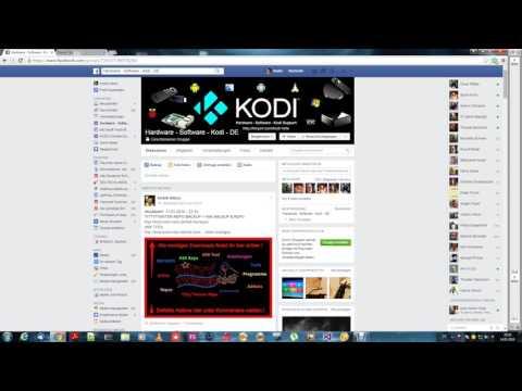 Kodi Facebook Gruppe  ( Deutsch )