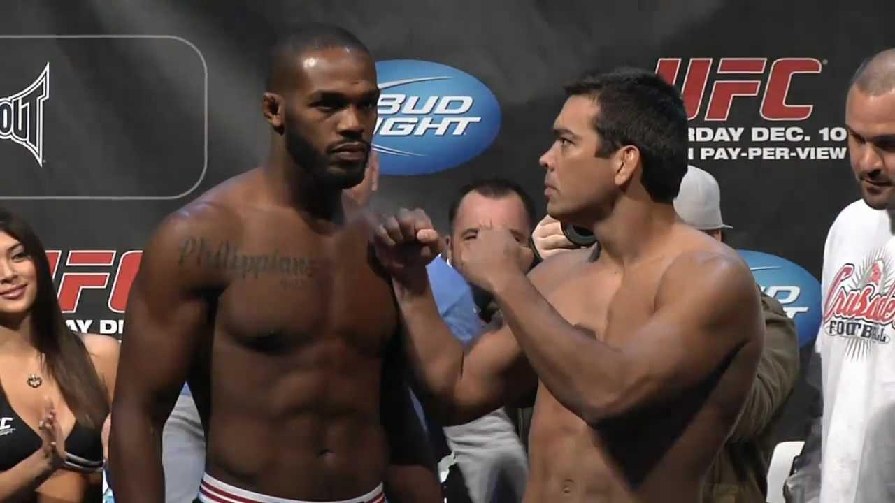 UFC 140 Weigh-in...Ufc 140