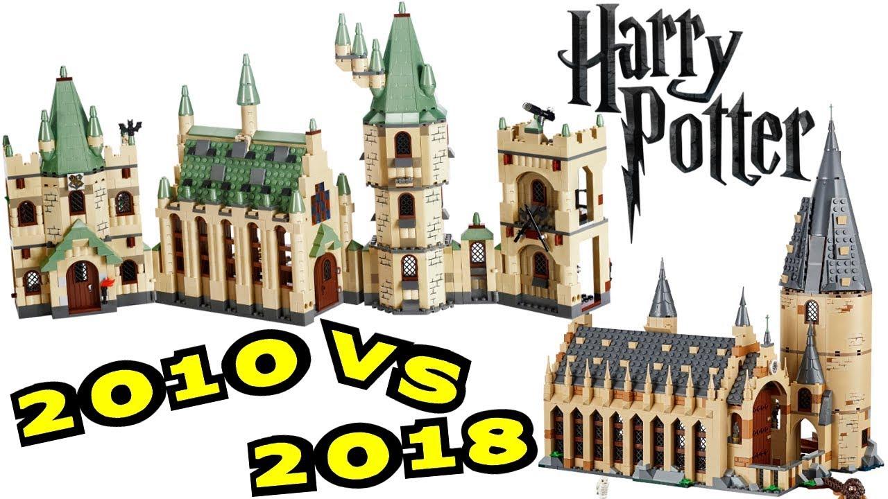 lego hogwarts castle 2010 vs 2018 harry potter wizarding world comparison brickqueen youtube. Black Bedroom Furniture Sets. Home Design Ideas