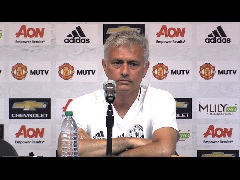 Jose Mourinho Press Conference Ahead Of LA Galaxy Match - Ma