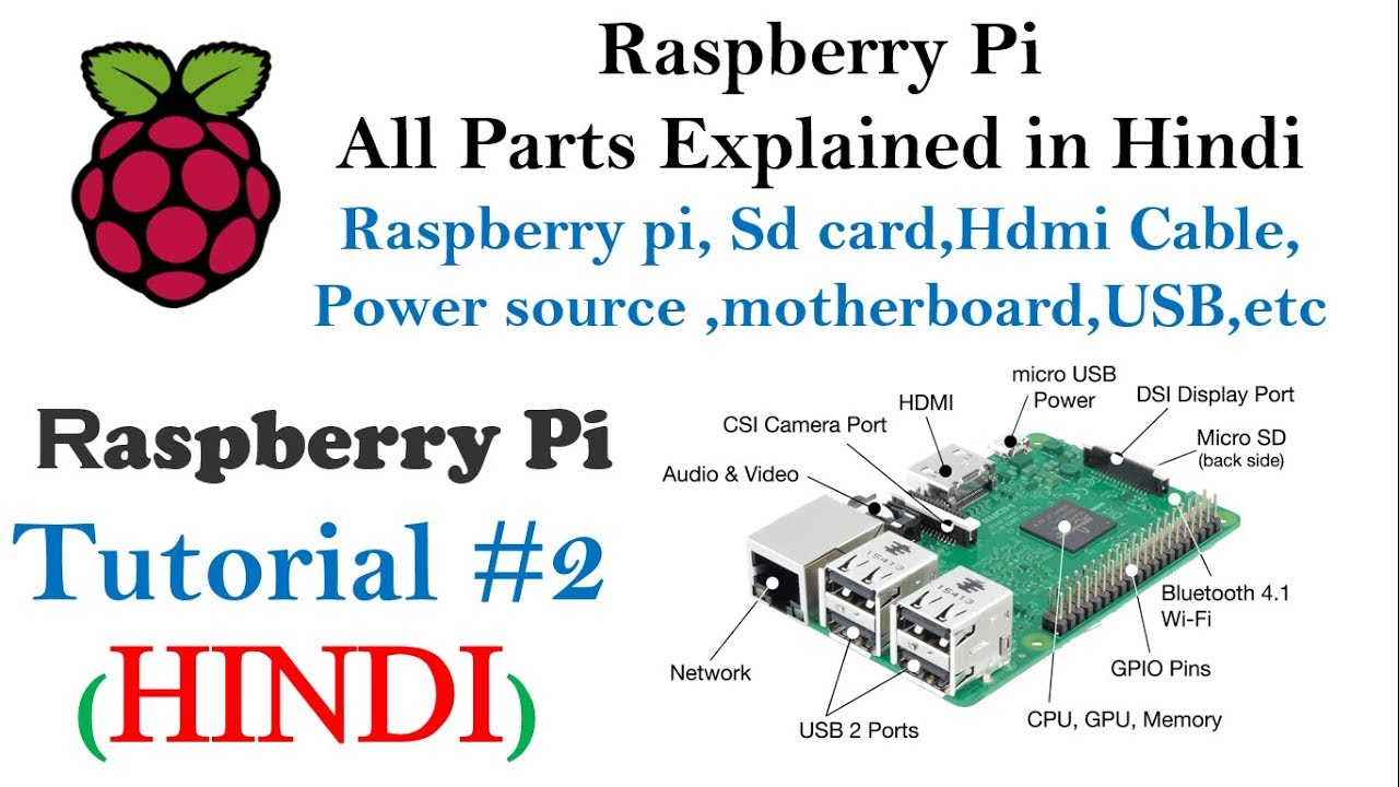 Raspberry Pi All Parts Explained in Hindi | Raspberry pi Tutorials for  beginners #2