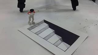 Video Belajar cara menggambar 3D di kertas untuk pemula yang mudah | GAMBAR TANGGA TURUN download MP3, 3GP, MP4, WEBM, AVI, FLV September 2018