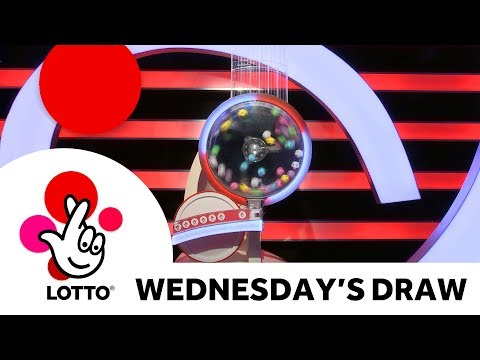 The National Lottery 'Lotto' draw results from Wednesday 2nd January 2019