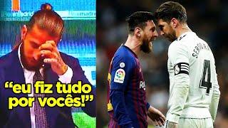 PASSARAM DOS LIMITES COM O SÉRGIO RAMOS NO REAL MADRID!! SÉRGIO RAMOS FOI EXPULSO DO REAL!!
