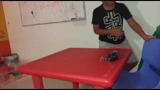 """Table top """"Mr. Crab"""" robot"""
