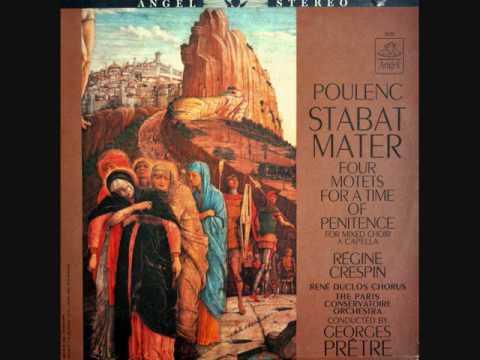 FRANCIS POULENC -  STABAT MATER